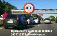 Масштабное ДТП под Киевом: столкнулись 4 машины