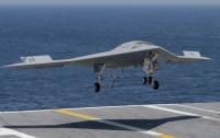 Американский беспилотник впервые сел на борт авианосца (ВИДЕО)