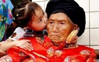 В Китае умерла старейшая землянка
