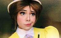 Американец примерил на себя образы диснеевских принцесс (ФОТО)