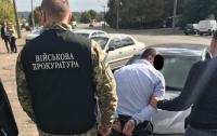 В Запорожье на взятке в размере 3500 долларов задержали Нацгвардейца