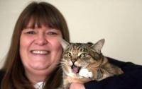 Британка выдвинула свою кошку на премию National Cat Awards за спасение от рака
