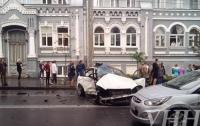 В центре Киева произошло ДТП, есть пострадавший