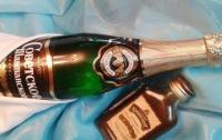 Украинские шампанское и коньяк скоро изчезнут из магазинов