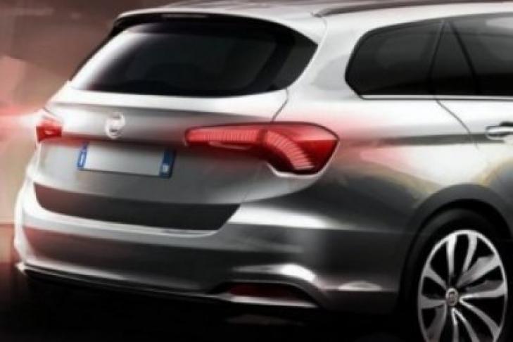Fiat опубликовал эскиз универсала Tipo SW