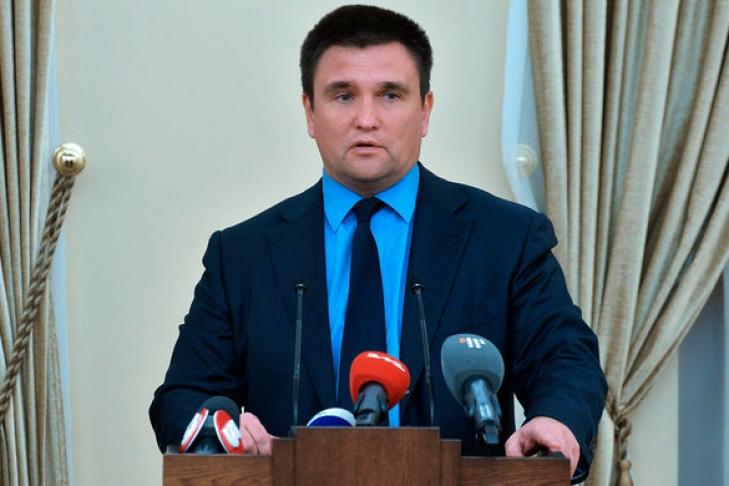 Климкин: Российская Федерация  пробует  сохранить собственный  протекторат наДонбассе любой ценой