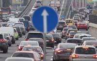 Киев парализовало: за час в столице произошло шесть ДТП