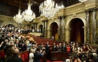 Парламент Каталонии принял закон о проведении референдума о независимости