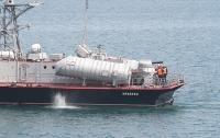 Украинский катер и британский корабль провели тренировку в Черном море