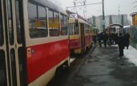 Сегодня в Киеве желающих ехать в трамвае травили газом