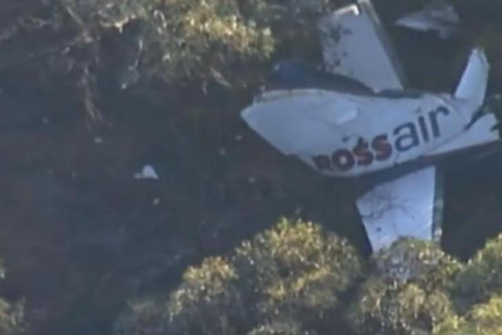 ВАвстралии упал самолет, все члены экипажа погибли