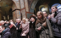Тимошенко сделала заявление после литургии