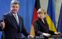 Порошенко поговорил с Меркель о России