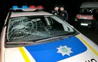 В Киеве шумная компания напала на патрульных