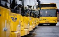 В Киеве обнародовали схему работы общественного транспорта во время празднования Пасхи