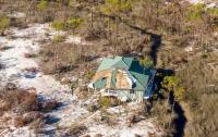 Ураган в США сдвинул дом на 360 метров