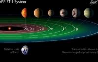 Астрономы предположили наличие атмосферы у планет системы TRAPPIST-1