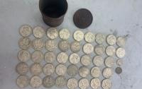 Украинец пытался скрыть коллекцию старинных монет