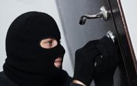В Киеве домушники попытались спрятаться за пакетом (видео)