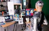 Цифрове мистецтво: картину робота Софії продали на аукціоні за майже 700 тисяч доларів