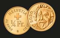 Для найменшої швейцарської золотої монети знадобиться лупа
