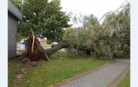 Польшу атаковал ураган с градом и проливным дождем