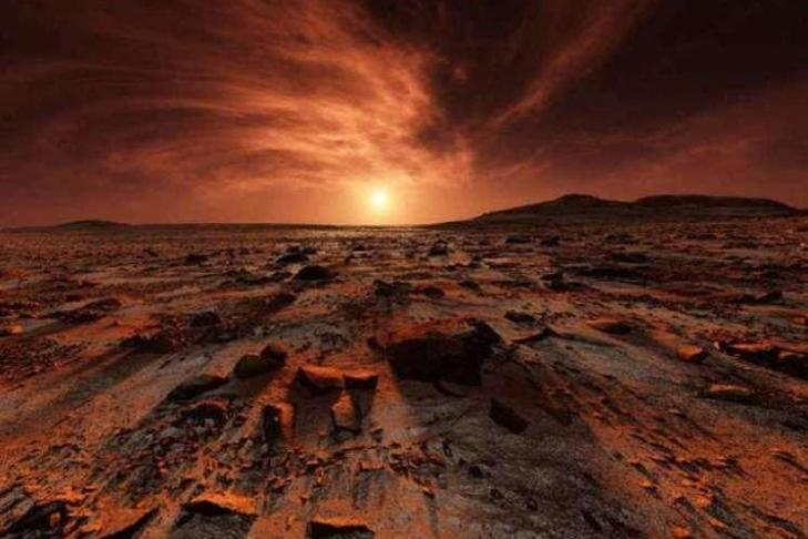 Камеры NASA засняли инопланетянина наМарсе