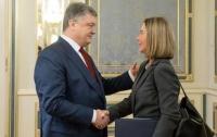 Порошенко - Могерини: Санкции действуют вопреки циничной лжи России