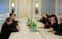 Янукович похвалил церковников за пропаганду толерантности