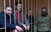 Российский суд отправил украинских моряков к психиатрам