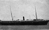 Найден затонувший в 1922 году пароход