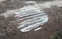 На Донетчине пограничники нашли российские фугасы