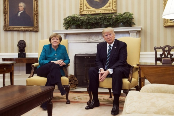 Иванку Трамп освистали вГермании