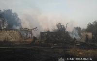 В Киевской области пожаром уничтожено три жилых дома