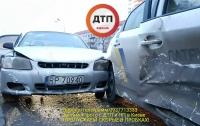 Нарко-ДТП в Киеве: пострадали двое полицейских