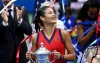 18-летняя британка Эмма Радукану выиграла US Open (видео)