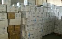 В Украине уничтожили огромную партию контрабандных сигарет