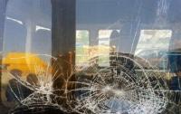 В Абхазии забросали камнями автобус с российскими туристами