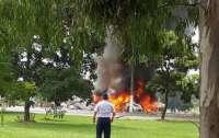 Самолет ВВС потерпел крушение, погибли семь человек