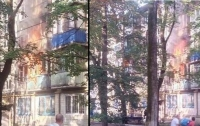 В Киеве взорвалась квартира многоэтажки