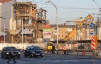 После пожара в Кемерове снесли здание ТЦ