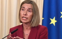 Могерини накануне заседания Совета ЕС сделала заявление по Украине