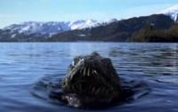 Лох-несское чудовище попало в объектив камеры видеонаблюдения (видео)