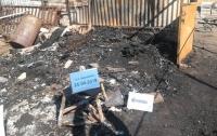 Российские боевики обстреляли жилые дома на Донбассе