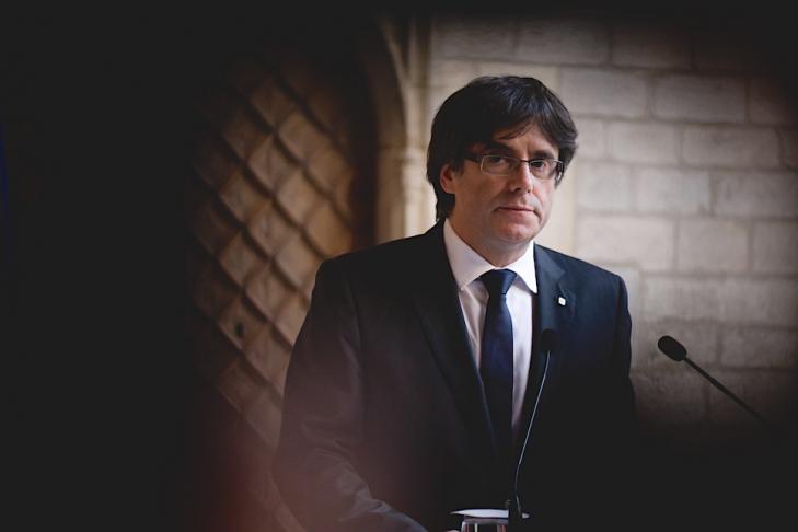 Карлеса Пучдемона арестовали вБельгии