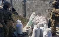 СБУ перехватила в Ровно 600 килограммов янтаря