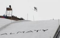 Евгений Марусяк - победитель турнира по прыжкам на лыжах с трамплина