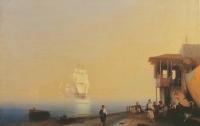 Картины Айвазовского затонули вместе с пароходом в Крыму