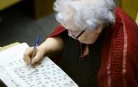 Ученые: разгадывание кроссвордов влияет на старение мозга