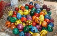 Как покрасить на праздник перепелиные яйца